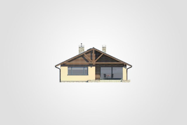 Compact house simple design decor wood (3)