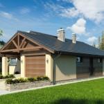 บ้านหลังคาจั่ว ขนาดเล็กกะทัดรัด ตกแต่งน้อยๆด้วยไม้ เพื่อชีวิตที่เรียบง่าย