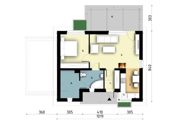 Contemporary House  decor concrete (9)