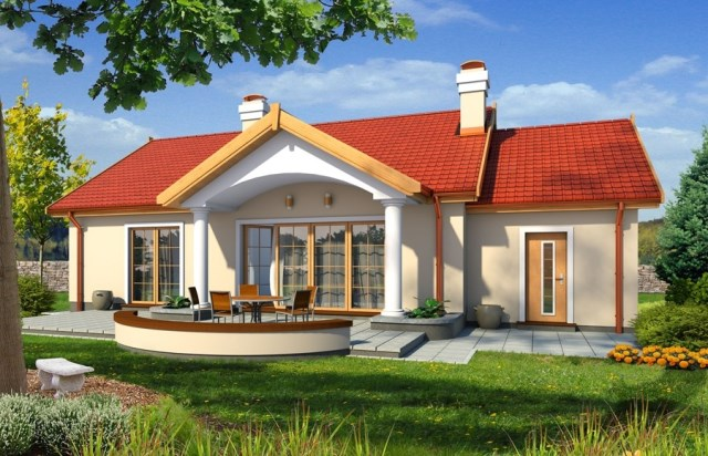 Contemporary home gable roof 06 (2)