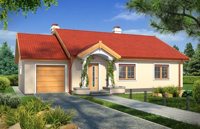 Contemporary home gable roof 06 (3)