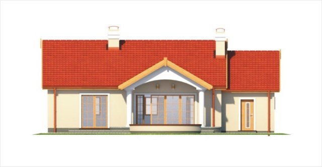 Contemporary home gable roof 06 (6)
