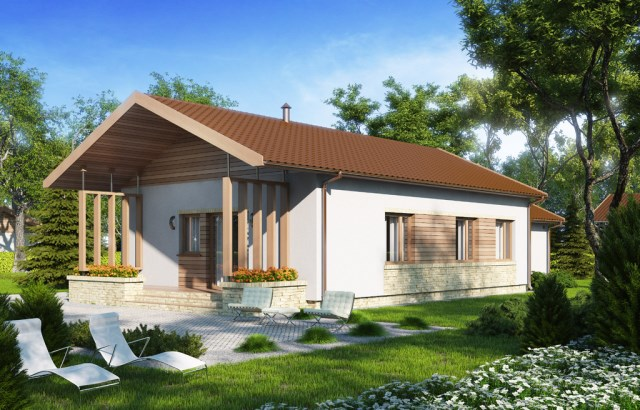 Contemporary small house with beautiful front yard (3)