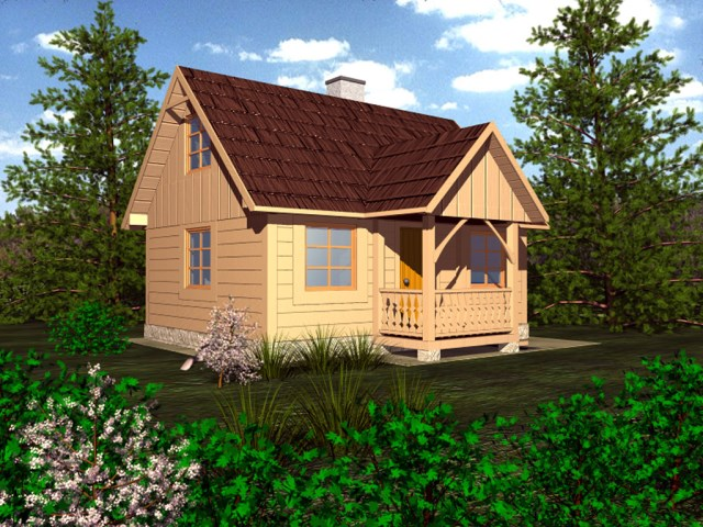 Cottage House compact beautiful simplicity (1)