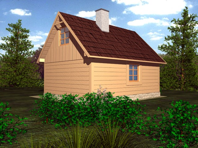 Cottage House compact beautiful simplicity (2)