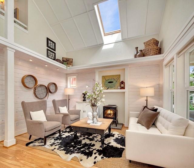 Cottage House sweet tone With veranda (6)