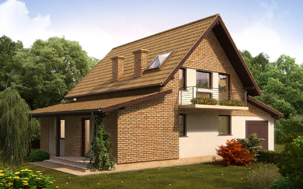 Country Home Decorated bricks and wood (3)