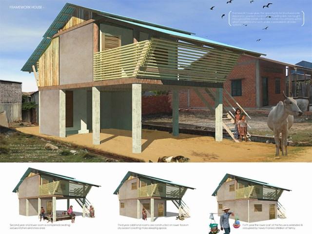Eco House bamboo brick and wood (5)