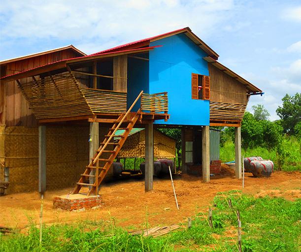 Eco House bamboo brick and wood (9)