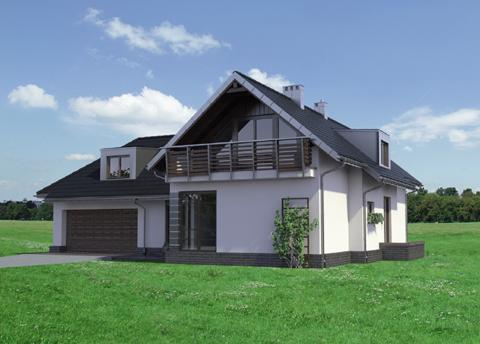 Half -storey house Contemporary Elegant shape (4)