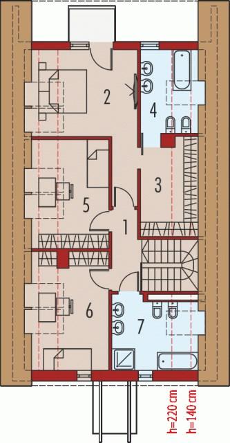 House Contemporary decor concrete wood (2)