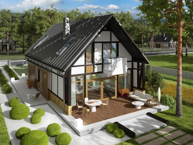 House Contemporary decor concrete wood (3)
