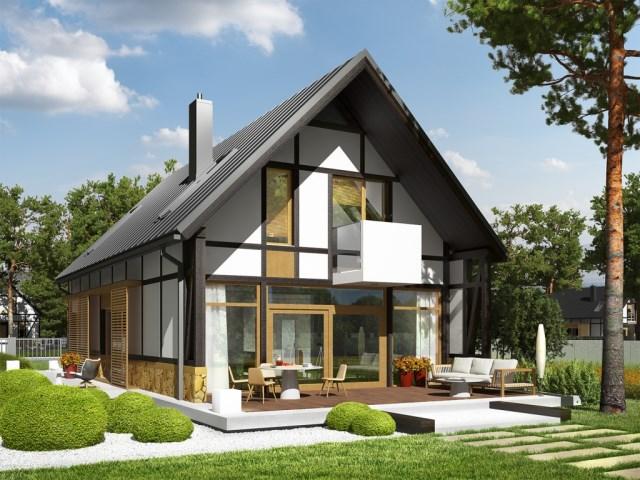 House Contemporary decor concrete wood (5)
