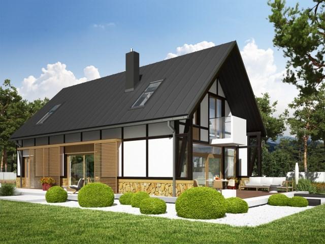 House Contemporary decor concrete wood (6)
