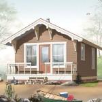 บ้านคอทเทจขนาดเล็ก ตกแต่งแบบอ่อนหวาน ในงบ 350,000 บาท