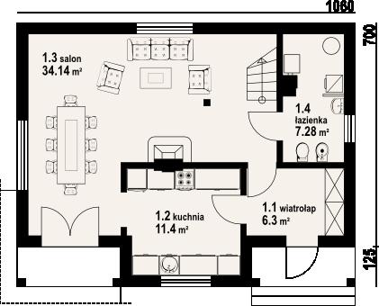 Medium 3 bedroom Victorian home (1)