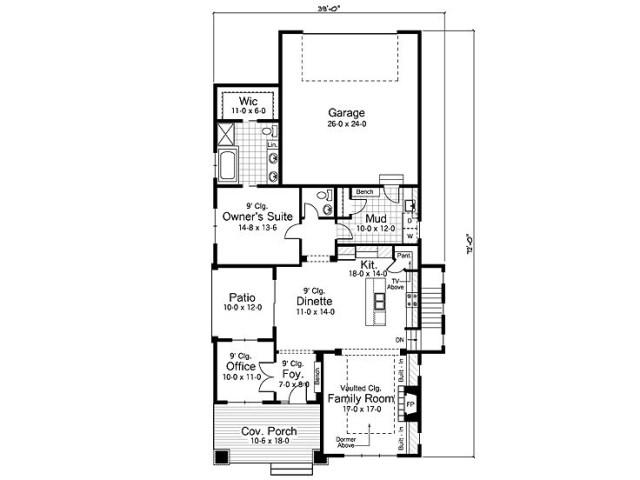 Medium bungalow-style home (2)