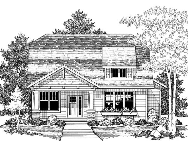 Medium bungalow-style home (3)