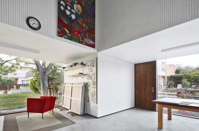 Modern house box Shape Wood and glass  (2)