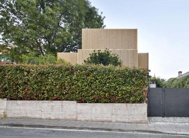 Modern house box Shape Wood and glass  (6)