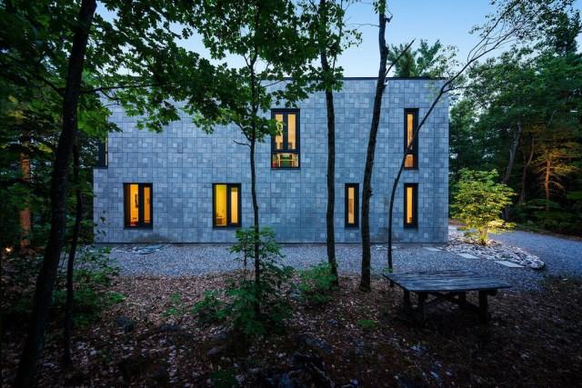 Modern house shape box (2)