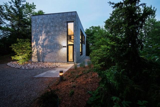 Modern house shape box (3)