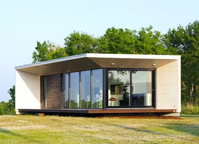 Modern small house for seaside (6)