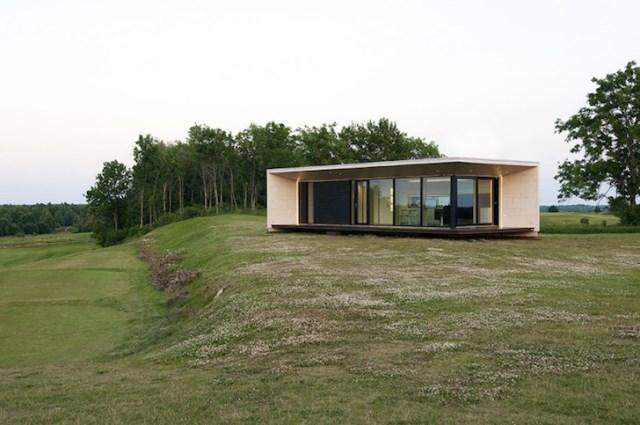 Modern small house for seaside (7)