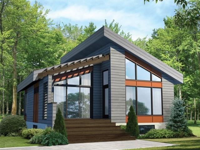 Modern style house with dark smart (1)