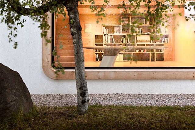Renovate home with wood Interior warm minimalist art (1)