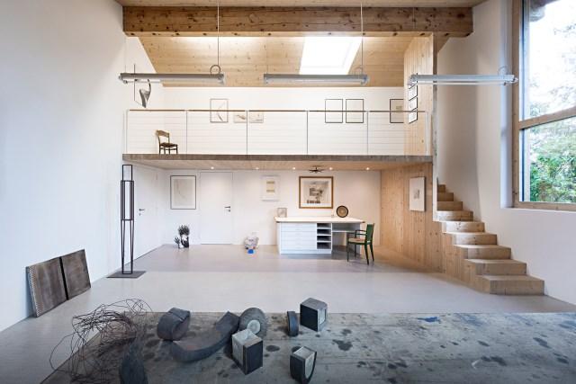 Renovate home with wood Interior warm minimalist art (3)