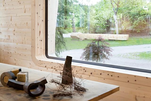 Renovate home with wood Interior warm minimalist art (4)
