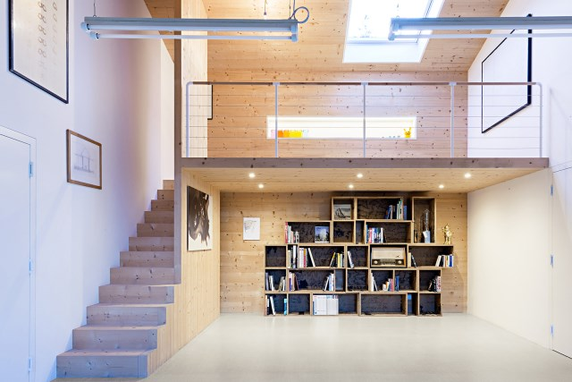 Renovate home with wood Interior warm minimalist art (5)