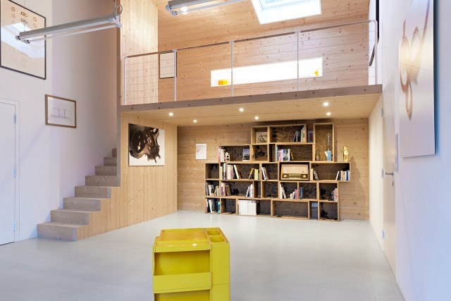 Renovate home with wood Interior warm minimalist art (7)