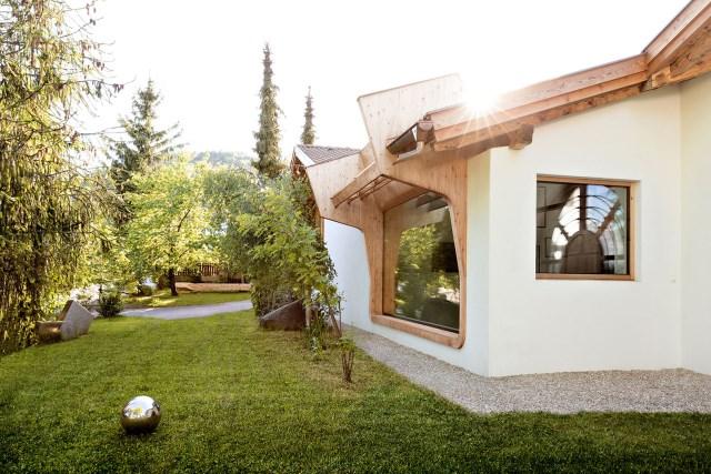 Renovate home with wood Interior warm minimalist art (9)