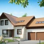 บ้านสองชั้นสไตล์ร่วมสมัย ตกแต่งไม้สร้างกลิ่นอายแบบบ้านยุโรป รองรับครอบครัวขนาดใหญ่