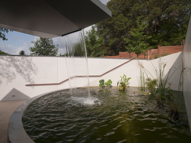 Villa house Modern Style Open space With beautiful gardens (2)