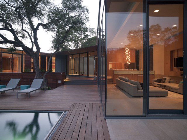 Villa house Modern Style Open space With beautiful gardens (3)