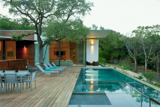 Villa house Modern Style Open space With beautiful gardens (7)