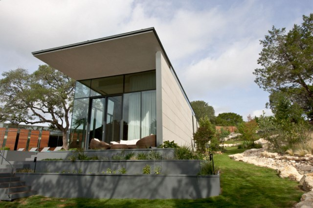 Villa house Modern Style Open space With beautiful gardens (8)