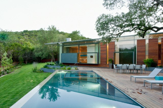 Villa house Modern Style Open space With beautiful gardens (9)