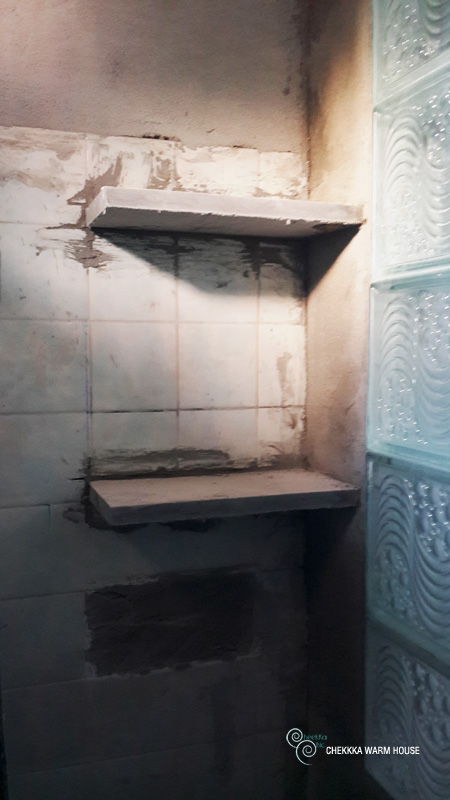 blue restroom renovation review (15)