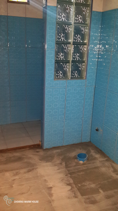 blue restroom renovation review (19)