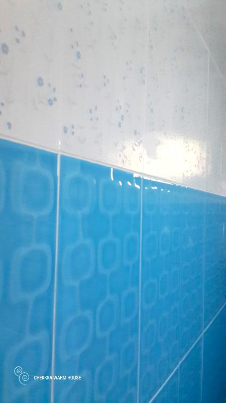 blue restroom renovation review (22)