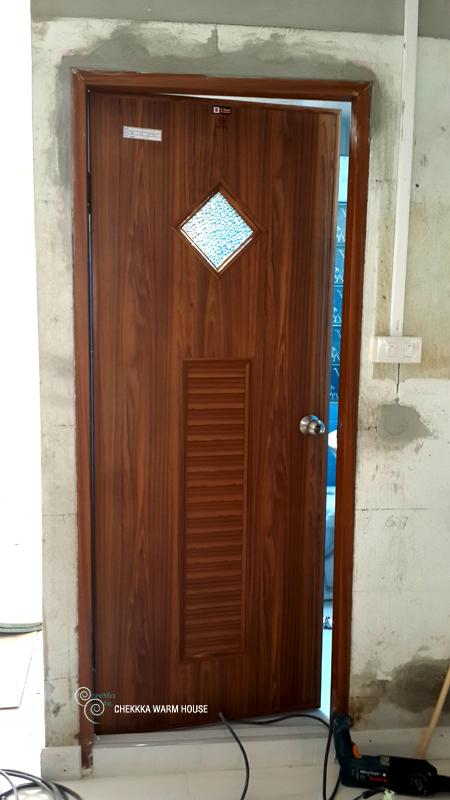blue restroom renovation review (26)