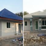 Review : สร้างบ้านทีเดียว 3 หลัง ได้บ้านสวยในฝัน บรรยากาศแบบรีสอร์ท