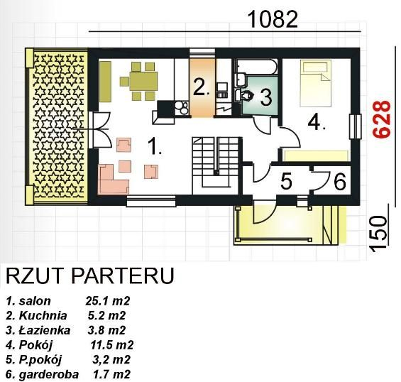 contemporary house 3 bedroom 2 bathroom (1)