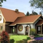 บ้านสองชั้นคันทรี ตกแต่งไม้และหินทราย โทนสีอบอุ่น ความลงตัวของครอบครัวขนาดเล็ก