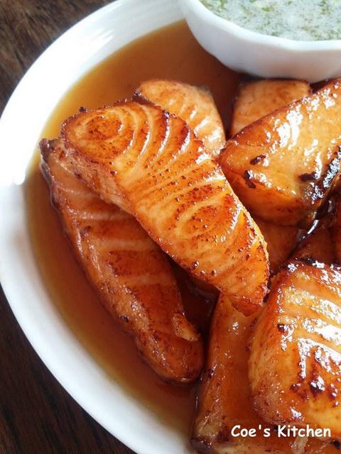 deep fried Salmon with fish sauce recipe (4)