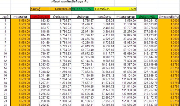 free housing instalment excel for download (1)
